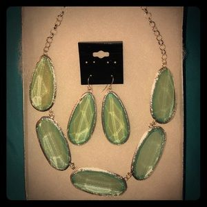 Jewelry - Statement Necklace with Earrings